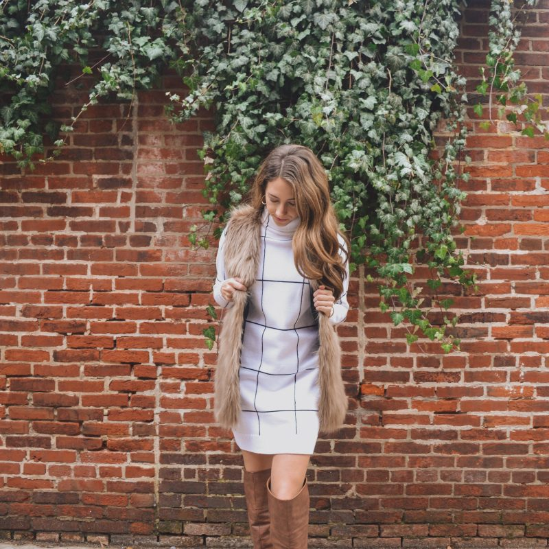 The Coziest Sweater Dress That's Perfect for Cold Weather