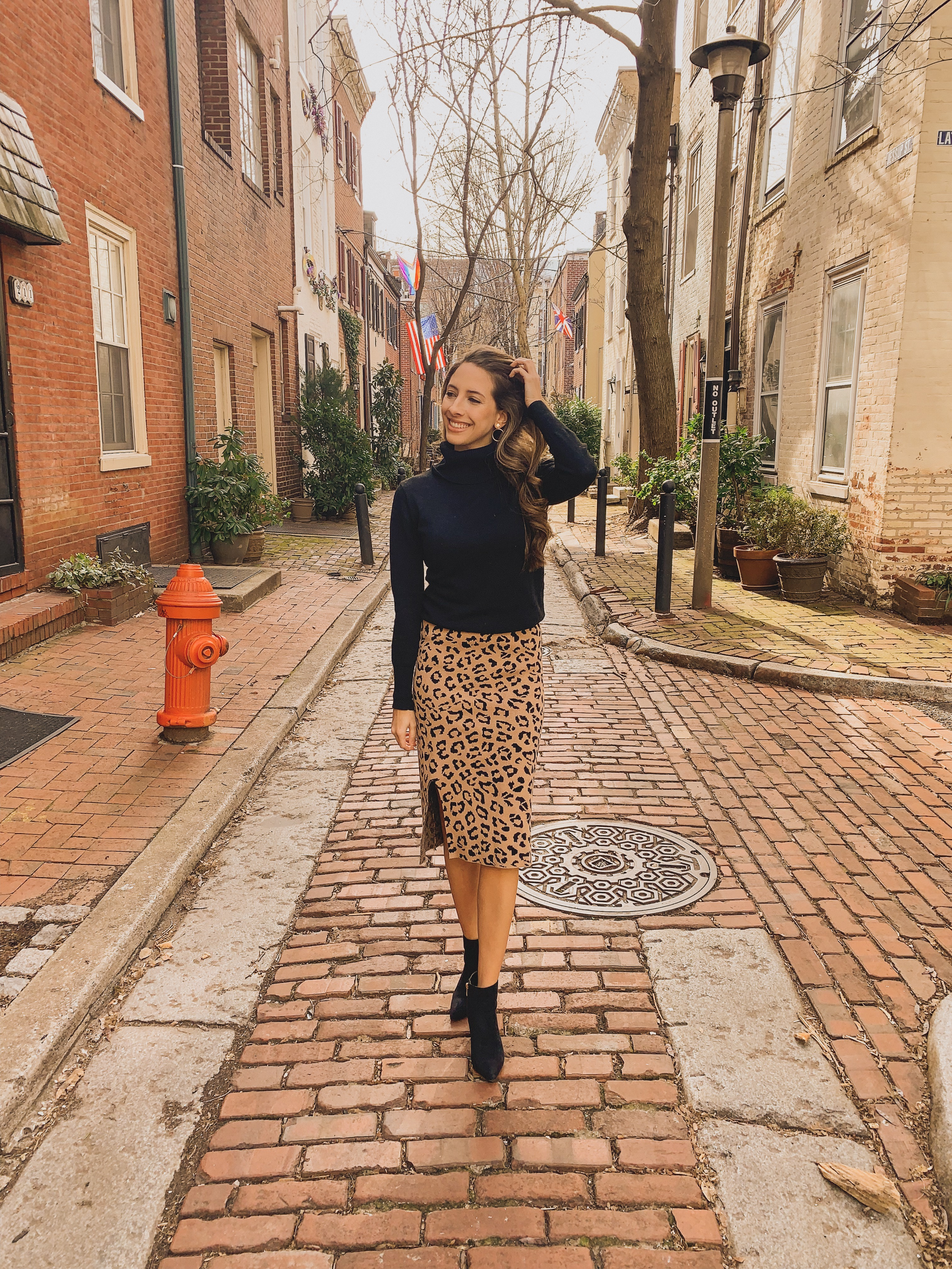 Once-Upon-a-Time-Leopard-Knit-Skirt-in-Tan