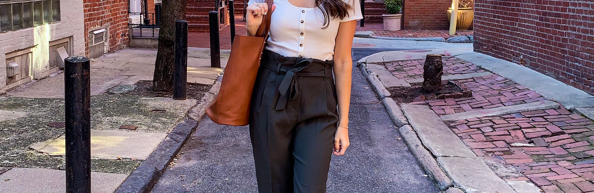 Affordable Paper Bag Pants for Spring