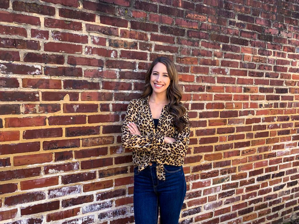 leopard-print-button-up