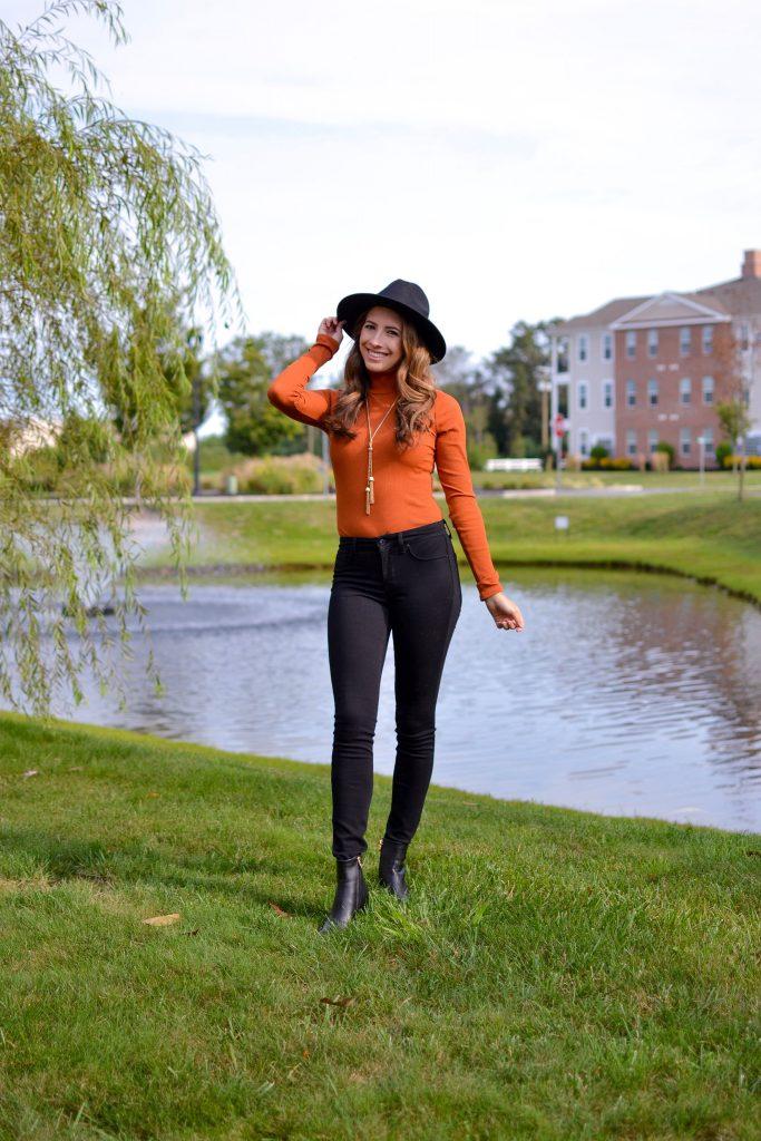Lulus-Rust-Orange-Bodysuit