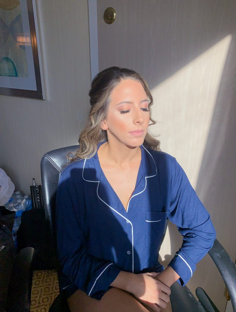 Bridesmaid-makeup