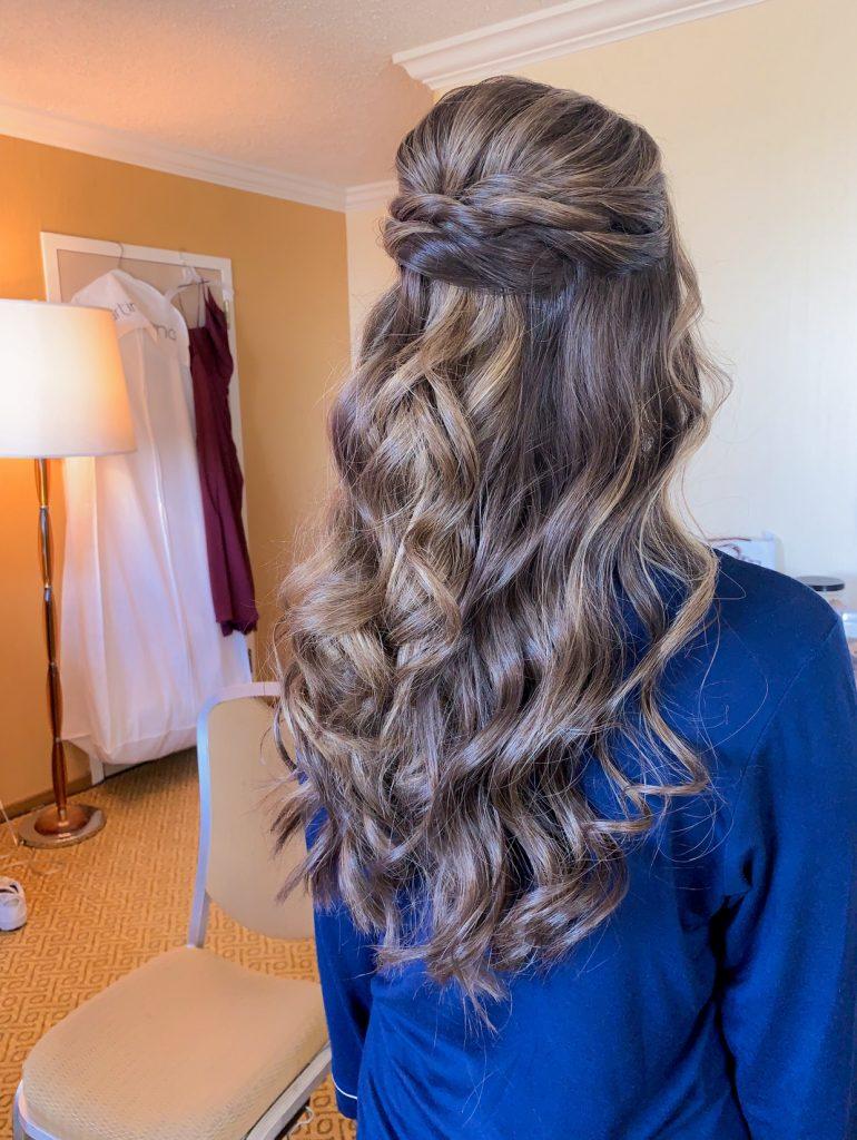 Bridesmaid-hair
