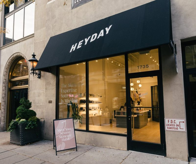 My First Heyday Facial