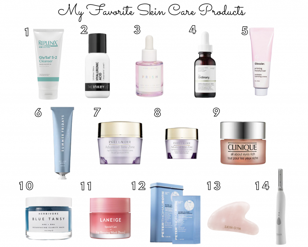 my-favorite-skin-care-products