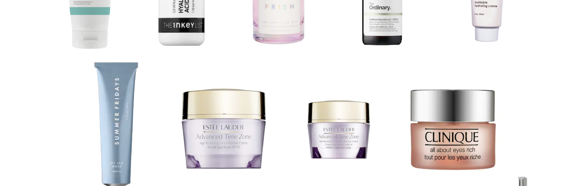 My Current Favorite Skin Care Products