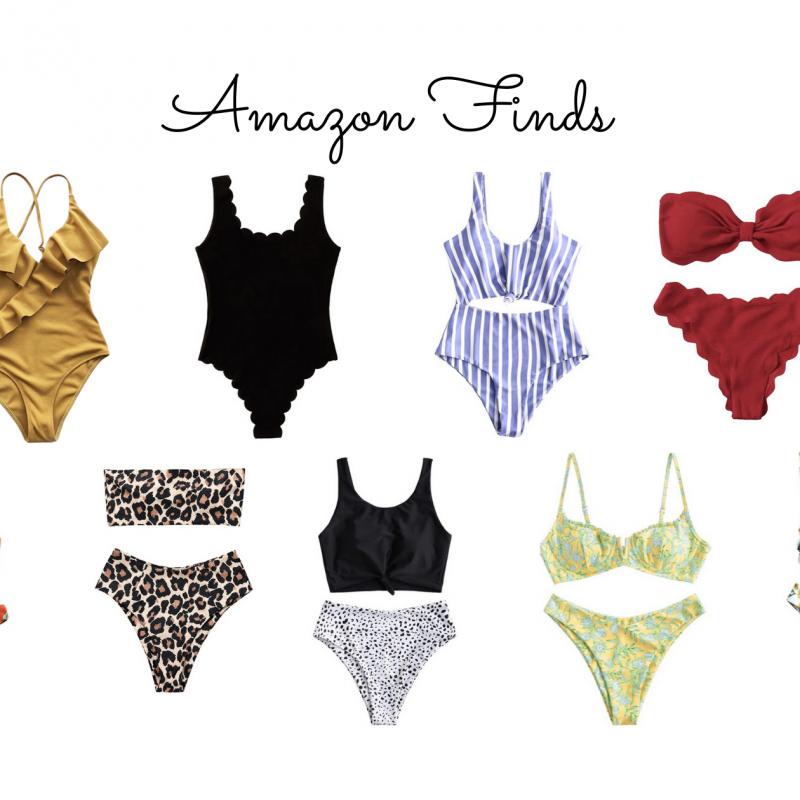 Amazon Finds Pt. 1 – Affordable Swimsuits