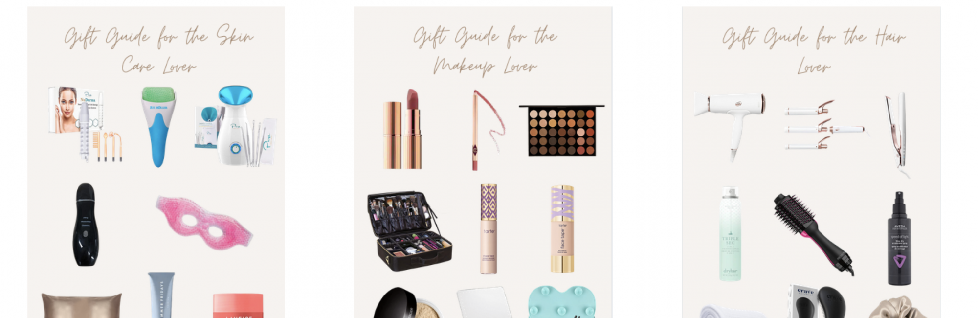 Gift Guides for the Beauty Lover in your Life
