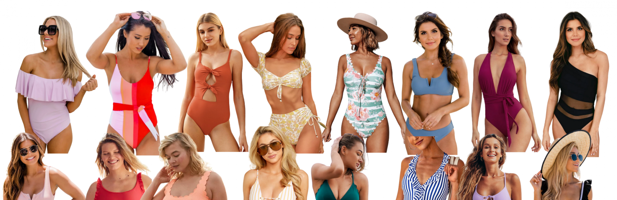 Swimsuits by Color to Get You Excited for Warmer Weather