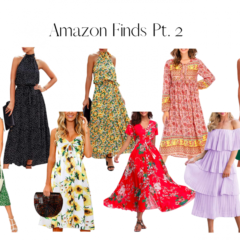 Amazon Finds Pt. 2 – Amazing Spring Dress Finds